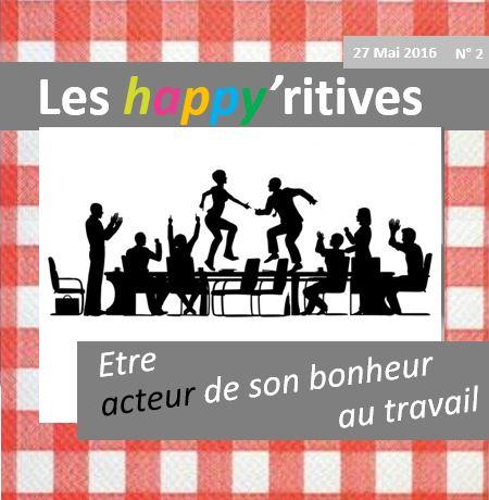 Les happyritives - Acteur de son bonheur au travail - 27 mai 2016